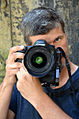 2015-08-06 Der Dipl.-Foto-Designer Christian Wyrwa nach seinem Besuch im Wikipedia-Büro Hannover.jpg