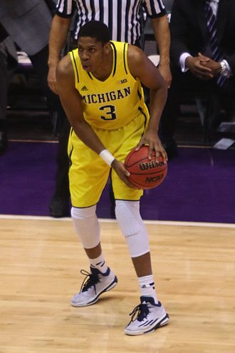 2014–15 Michigan Wolverines men's basketball team - Clockwise from top left Muhammad Ali Abdur-Rahkman, Ricky Doyle, Kameron Chatman and Aubrey Dawkins all started more than 10 games for the 2014–15 Michigan Wolverines as true freshmen.