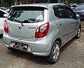 2015 Toyota Agya 1.0 G (rear), Kemayoran, Central Jakarta.jpg