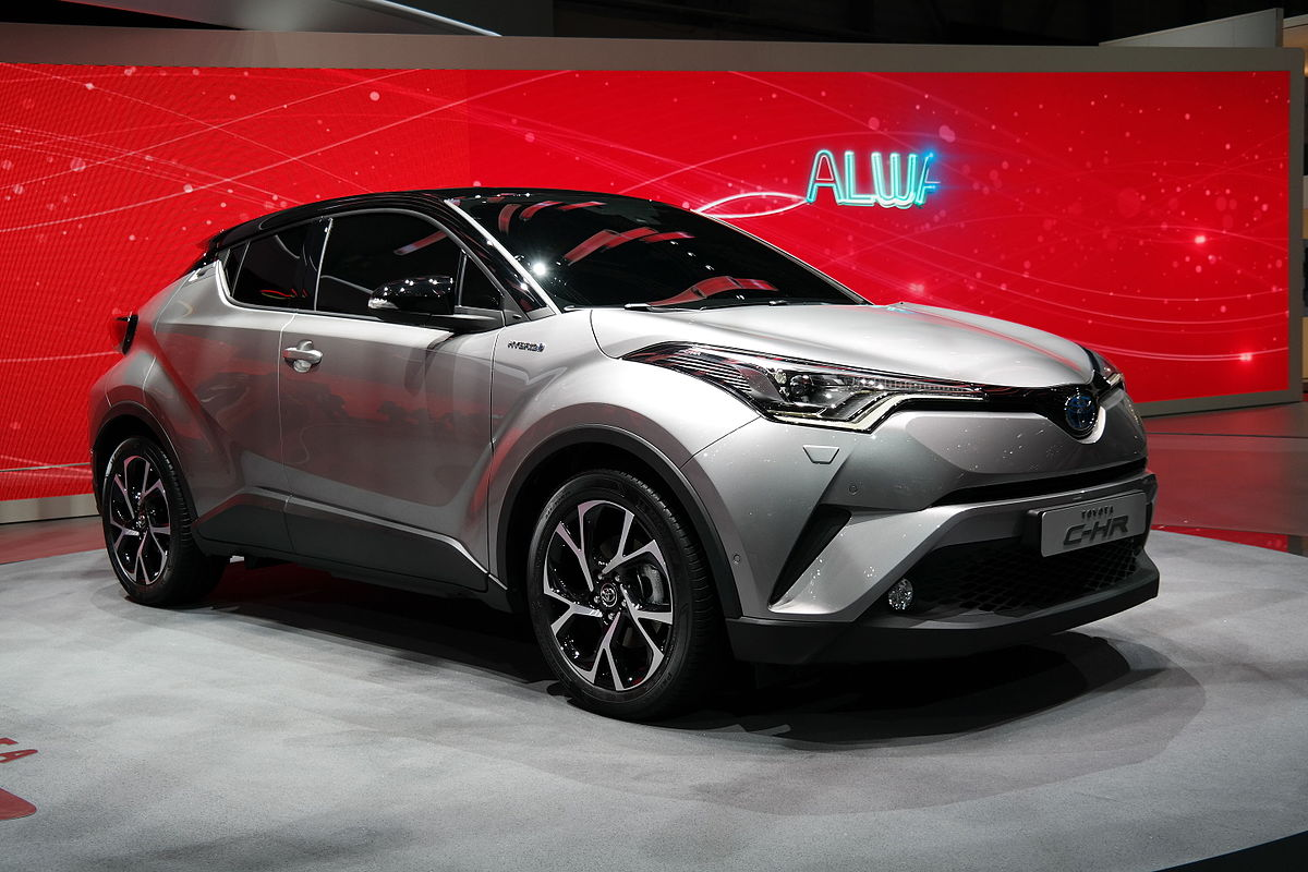 Toyota C-HR - Wikipedia