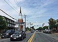 2016-06-11 11 03 59 View west along Maryland State Route 132 (Bel Air Avenue) between Howard Street and Parke Street in Aberdeen, Harford County, Maryland.jpg