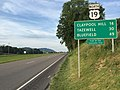 2017-06-11 19 31 50 View north along U.S. Route 19 (Trail of the Lonesome Pine) at Virginia State Route 80 (Redbud Highway) in Rosedale, Russell County, Virginia.jpg