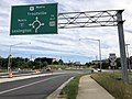 2018-06-05 08 44 10 View north along U.S. Route 11 (Lee Highway) at Virginia State Route 167 (Gateway Crossing) in southern Botetourt County, Virginia.jpg
