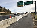 2018-11-01 14 36 56 View south along Virginia State Route 28 (Sully Road) at the exit for Interstate 66 WEST (Front Royal) in Centreville, Fairfax County, Virginia.jpg
