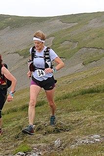 Beverley Redfern British mountain runner