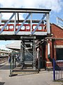 2018 at Newbury station - demolishing the footbridge (3).JPG