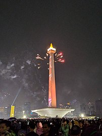2019's New Year in Jakarta, Indonesia.jpg