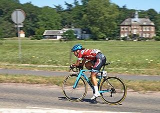 Kirstie van Haaften Dutch cyclist