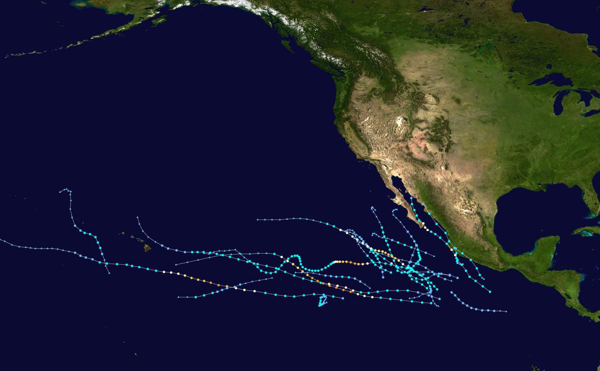 2020 Hurricane List.2019 Pacific Hurricane Season Wikipedia