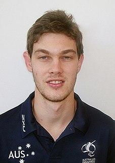 Samuel Von Einem Australian para table tennis player