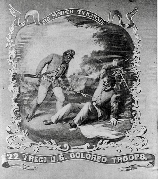 File:22nd US Colored Troops banner.jpg