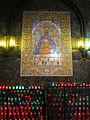 237 Basílica de Montserrat, camí de l'Ave Maria, plafó ceràmic de la Mare de Déu.JPG