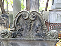 251012 Detail of tombstones at Jewish Cemetery in Warsaw - 23.jpg
