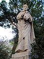 2898 - Catania - Cattedrale - Beato s. Bernardo - Statua 800sca nella ''Floretta'' (giardino) - Foto Giovanni Dall'Orto, 1-Oct-2006.jpg