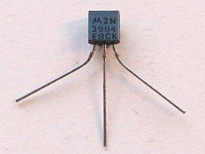 2N3904 - A 2N3904 made by Motorola