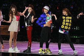 CL (singer) - 2NE1 in 2009