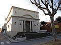 359 Biblioteca Pere Gual i Pujadas, pg. Misericòrdia 13 (Canet de Mar).JPG