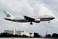 374ag - American Airlines Airbus A300-605R; N77080@MIA;31.08.2005 (5037052035).jpg