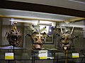 3 Schandmasken 17.-18. Jhd., Österreich - Mittelalterliches Kriminalmuseum Rothenburg ob der Tauber.JPG