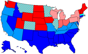 United States House of Representatives elections, 1962 - Image: 88 us house membership