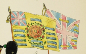 88th Regiment of Foot (Connaught Rangers) - Regimental Colours