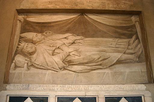 9705 - Milano - S. Ambrogio - Tesoro - Tomba di Bernardo & arc. Anselmo I - Foto Giovanni Dall'Orto 25-Apr-2007
