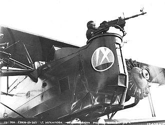 9th Bomb Squadron - Keystone B-3 of the 9th Bombardment Squadron, March Field, California.
