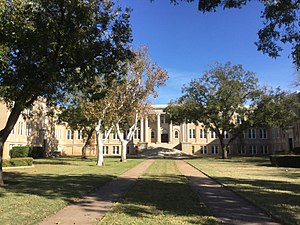 National Register of Historic Places listings in Taylor County, Texas - Image: ACU Administration Building