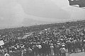 "AN ANTI ""WHITE PAPER"" MASS RALLY IN THE TEL AVIV STADIUM. הפגנת המונים באיצטדיון תל אביב, נגד מדניות ""הספר הלבן"" של שלטונות המנדט.D4-057.jpg"