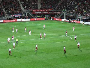 AZ Alkmaar - AZ versus Larissa in a 2007–08 UEFA Cup match.