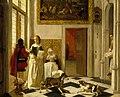 A Lady Receiving a Letter by Ludolf Leendertsz de Jongh.jpg