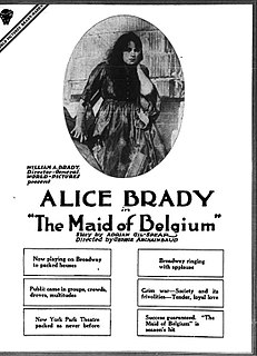 <i>A Maid of Belgium</i> 1917 film directed by George Archainbaud