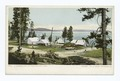 A Summer Camp, Yellowstone Lake (NYPL b12647398-68030).tiff