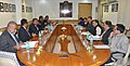 A delegation from Fiji led by the Minister for Agriculture, Rural and Maritime Development, Fiji, Mr. Inia Batikoto Seruiratu calls on the Union Minister for Agriculture, Shri Radha Mohan Singh, in New Delhi.jpg