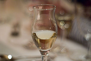 Grappa - A glass of grappa