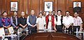 A group of Eastern Nagaland People's Organisation (ENPO) leaders calling on the Union Home Minister, Shri Rajnath Singh, in New Delhi. The Secretary (Internal Security).jpg