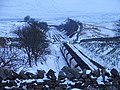 A loaded coal train heads south on the Settle and Carlisle line - geograph.org.uk - 1152998.jpg