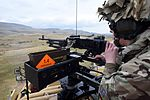A member of The Royal Scots Dragoon Guards taking part in a Live Firing exercise MOD 45159573.jpg