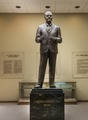A statue of legendary Texas oilman H.L. Hunt at the East Texas Oil Museum, in Kilgore, Texas LCCN2014633084.tif