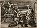 A surgeon instructing a younger surgeon how to bleed a male Wellcome V0016799.jpg