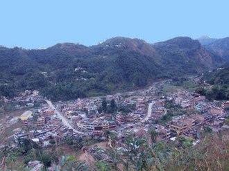 Putalibazar - Image: A view of Syangja