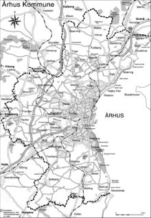 kort over århus kommune