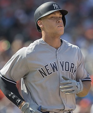 Aaron Judge - Judge with the Yankees in 2017