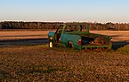 Abandoned pickup at Kelvin A. Lewis farm in Creeds 3.jpg