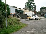 Abattoir, Wiswell Moor. Small abattoir supplying fine quality local meat to our local butcher.