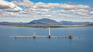 Abbot Point Deepwater port in Queensland, Australia