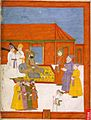 Abd al-Samad Khan received by Jahandar Shah.jpg