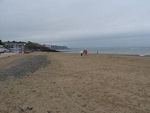 Abersoch - Image: Abersoch Beach