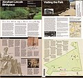 Abraham Lincoln Birthplace National Historic Site, Kentucky, official map and guide LOC 2005632016.jpg