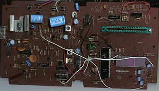 1292 Advanced Programmable Video System - PCB Scan of the Acetronic MPU-1000.